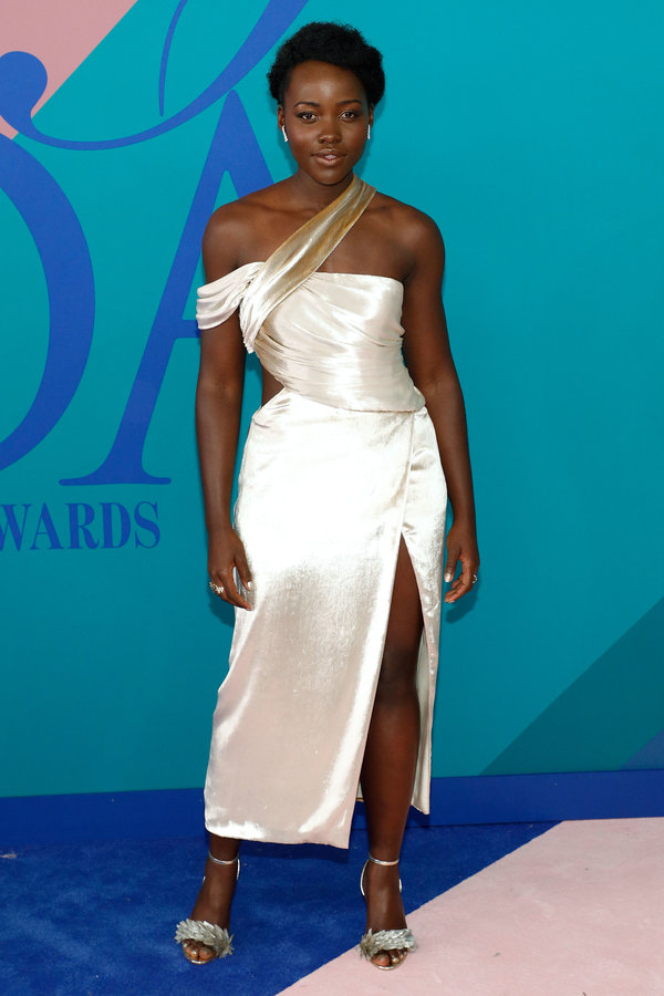 NEW YORK, NY - JUNE 05:  Lupita Nyong'o attends the 2017 CFDA Fashion Awards at Hammerstein Ballroom on June 5, 2017 in New York City.  (Photo by Taylor Hill/FilmMagic)