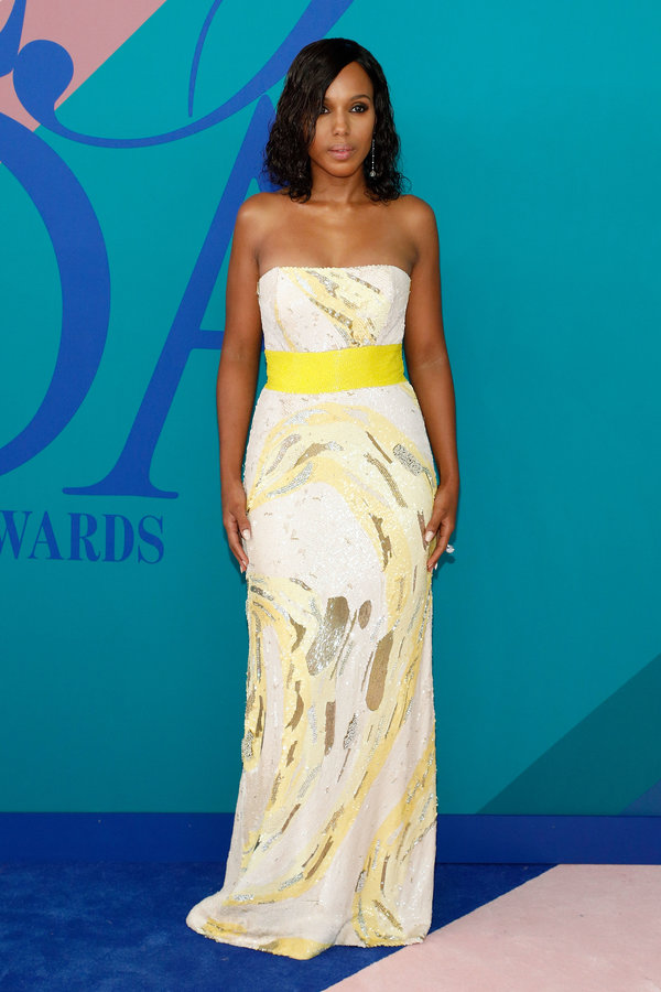 NEW YORK, NY - JUNE 05:  Kerry Washington attends the 2017 CFDA Fashion Awards at Hammerstein Ballroom on June 5, 2017 in New York City.  (Photo by Taylor Hill/FilmMagic)