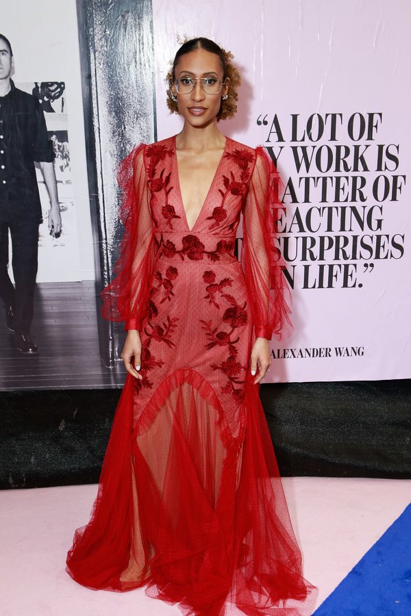 NEW YORK, NY - JUNE 05:  Elaine Welteroth attends the 2017 CFDA Fashion Awards on June 5, 2017 in New York City.  (Photo by Gonzalo Marroquin/Patrick McMullan via Getty Images)
