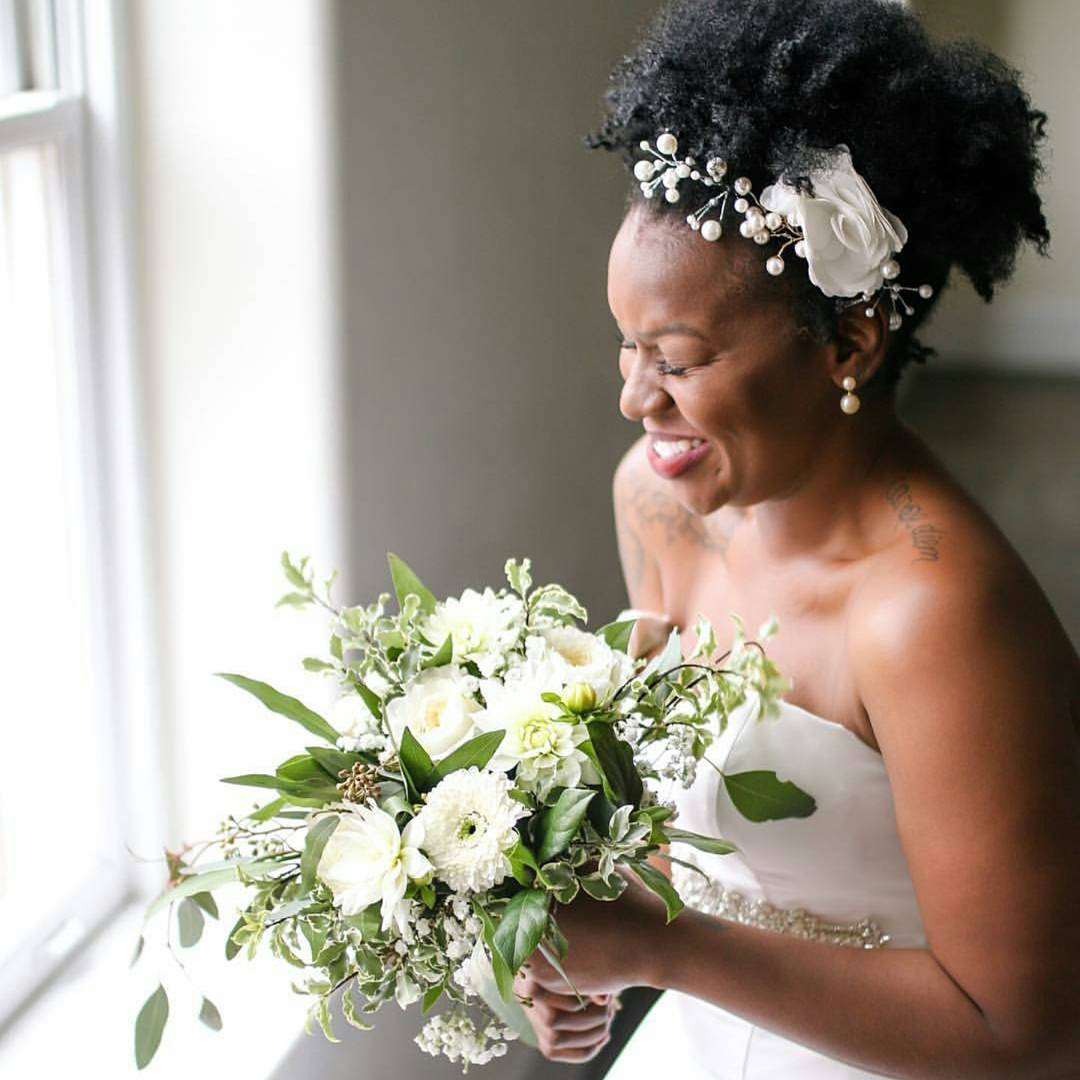 natural hair bride4