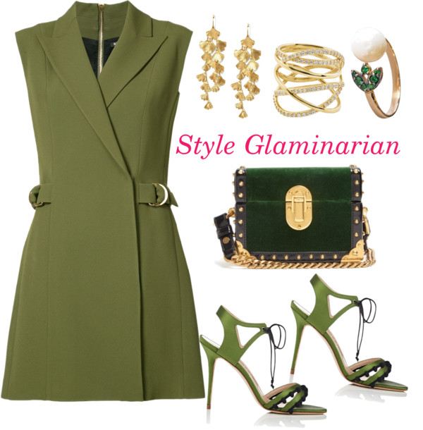 green looks for the weekend for style glaminarian's pick 1