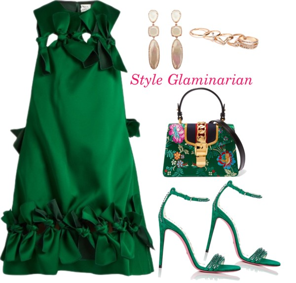green looks for the weekend for style glaminarian's pick 2