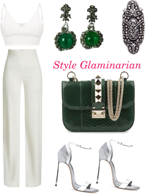 green looks for the weekend for style glaminarian's pick 5