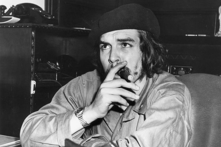 Che Gueravara owning that beret swag since day 1!