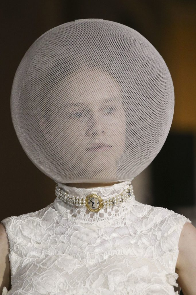 Thom Browne - Anti-socials, where y'all at? With this little cocoon, everyone will know not to bother you. Not that you look crazy or anything...