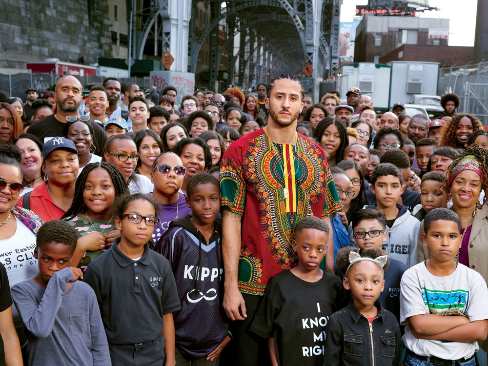 Collin Kaepernick in Harlem