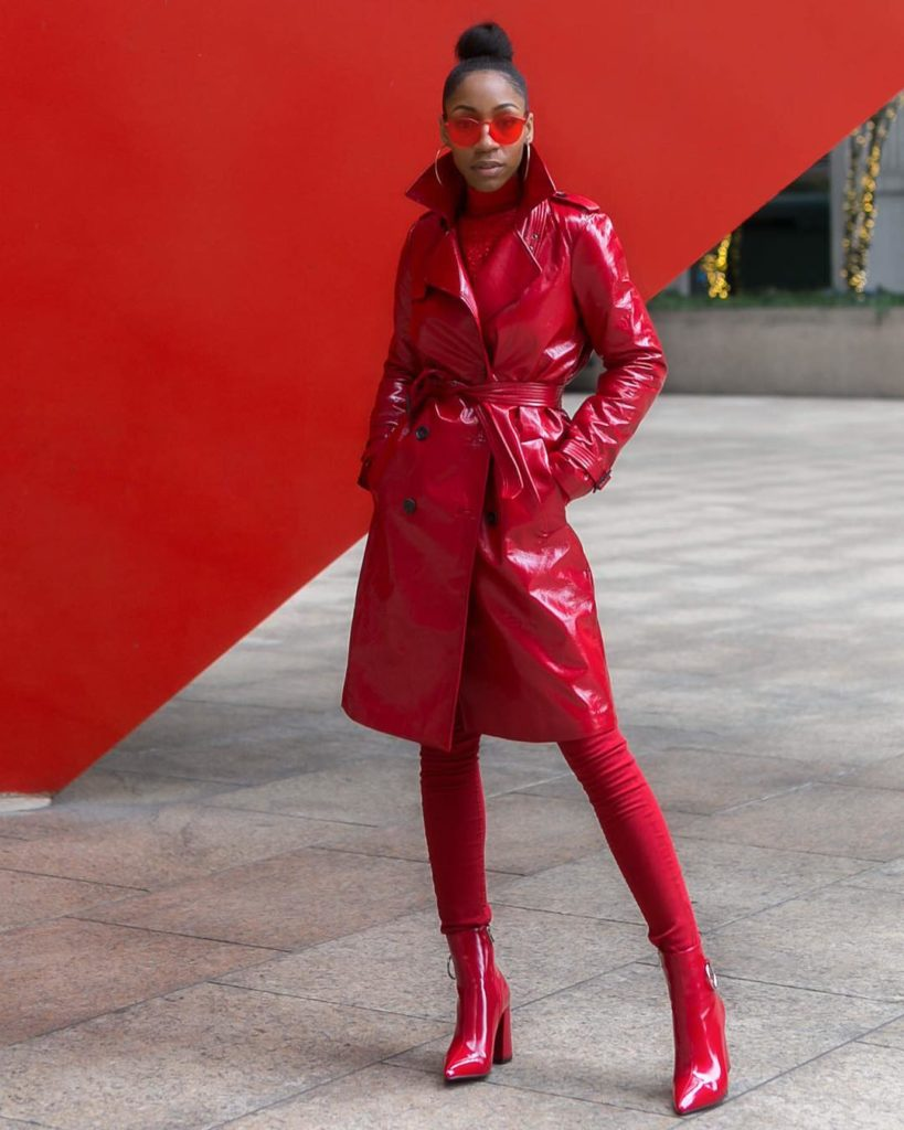Monochromatic Style done right - Chinyere The Real Chi