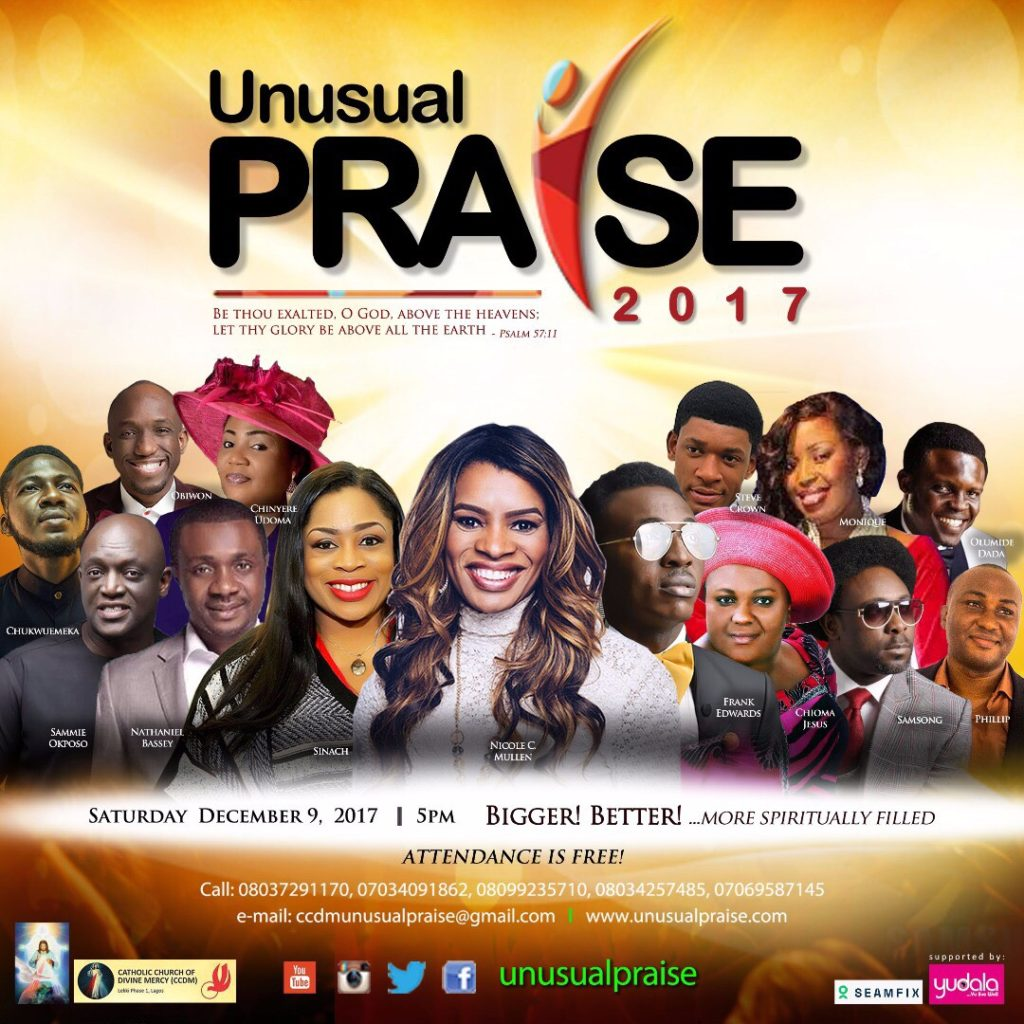 Unusual Praise fliers and pictures on Kamdora 2017 (1)