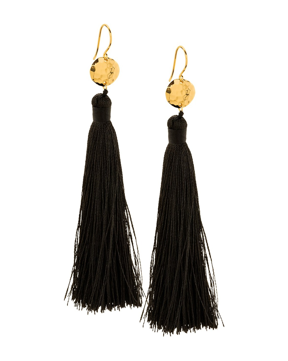 Gorjana Tassel Earrings go for $55