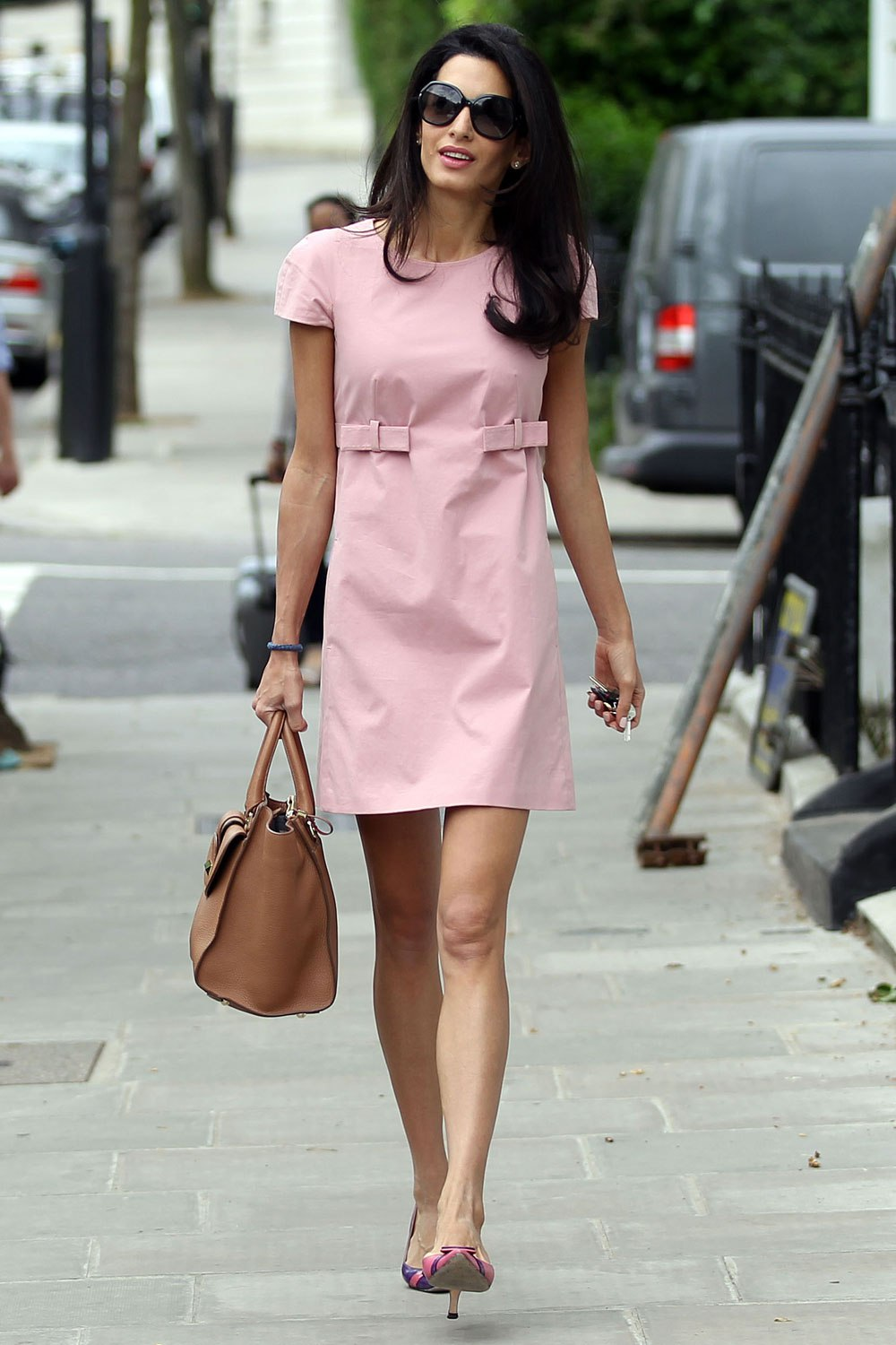 Amal Clooney does work style perfectly 14