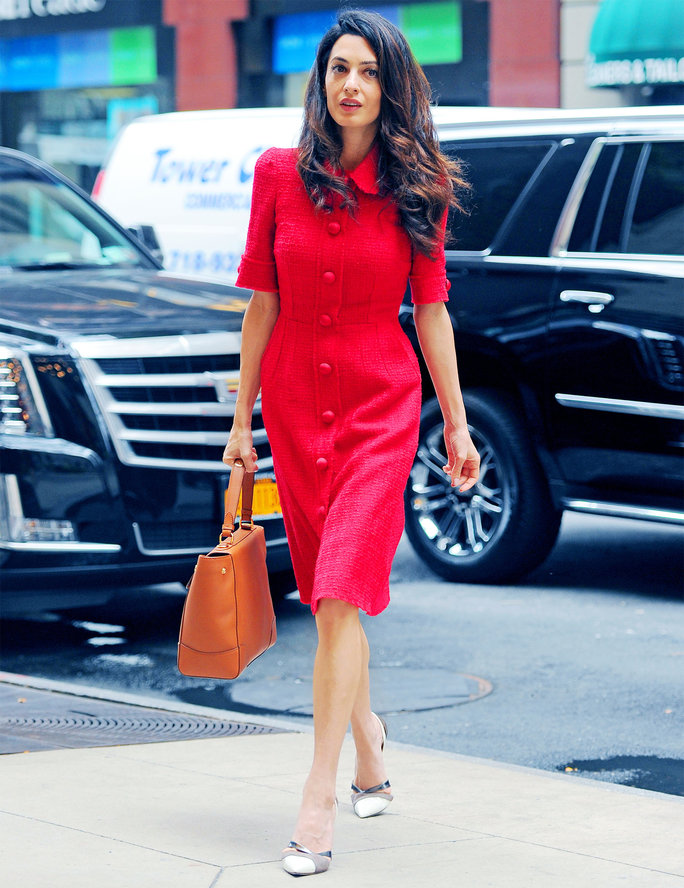 Amal Clooney does work style perfectly