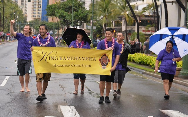 King Kamehameha Hawaiian Civic Club Prince Kuhio Parade