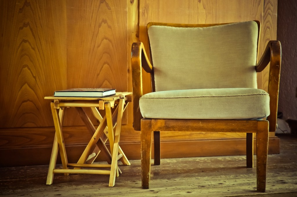 vintage meubels op kamers