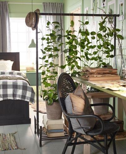 room divider planten