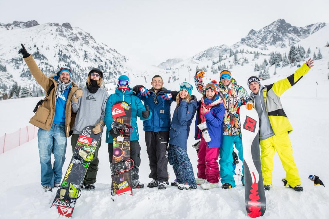 snowboard studenten