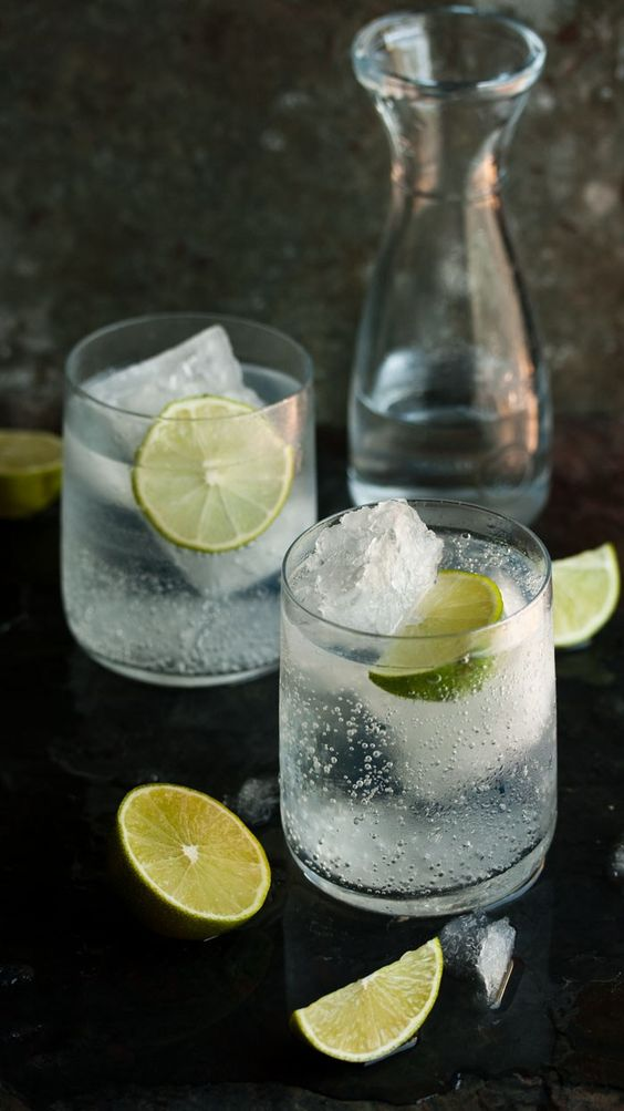 hoe maak je gin en tonic
