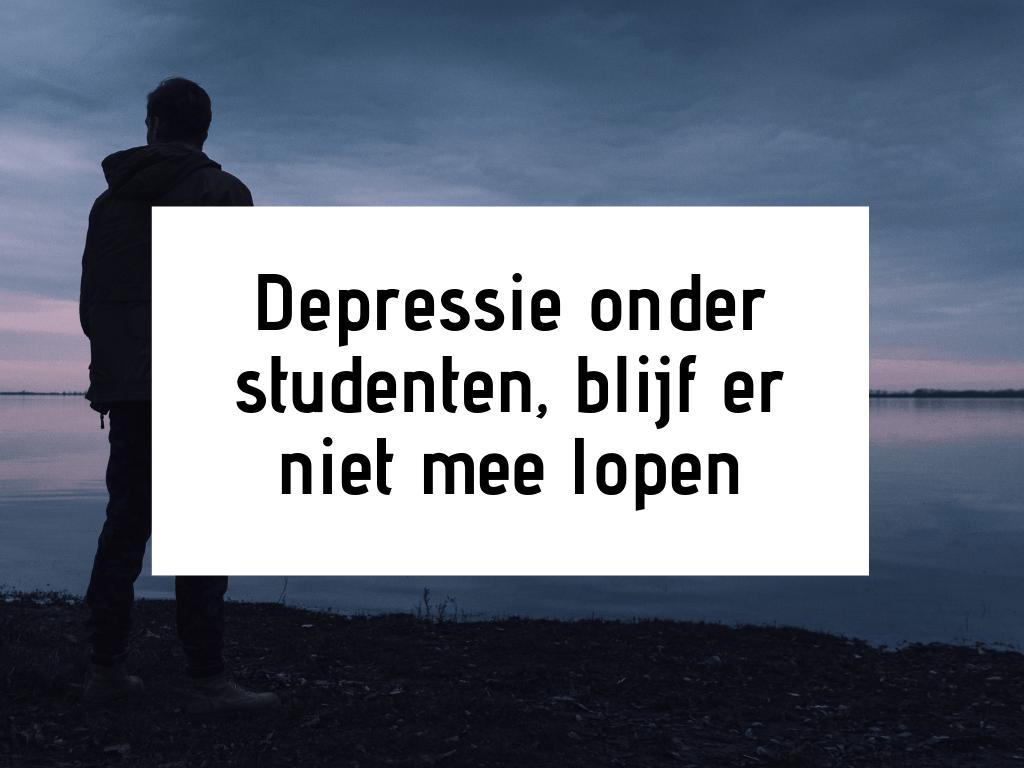 depressie onder studenten