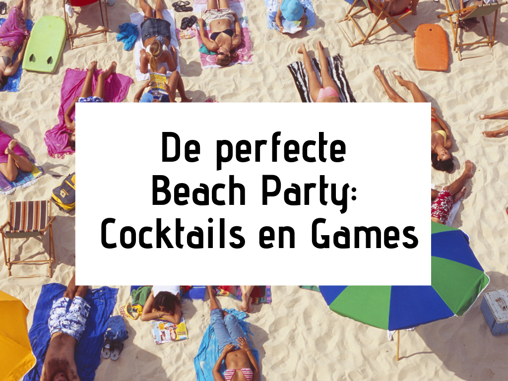 perfecte beach party