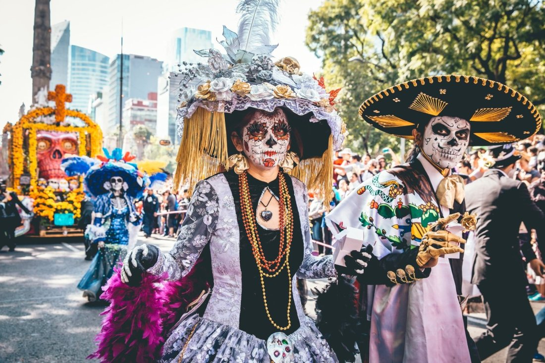 day of the dead traditie