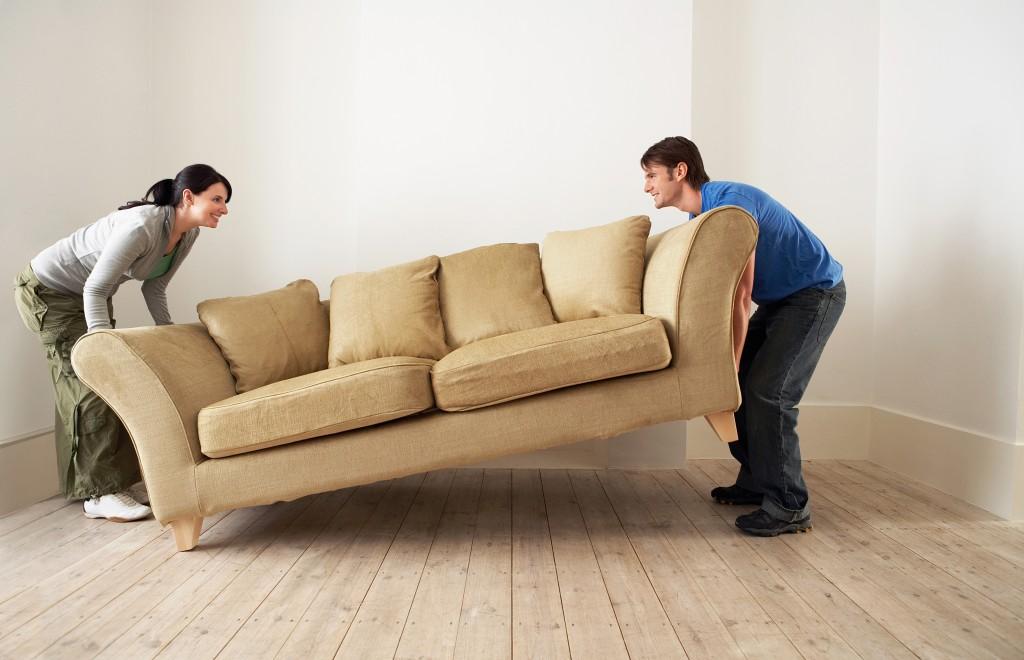 zware meubels verhuizen