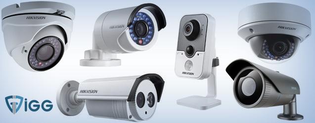 İGG IP ve Analog Kamera Güvenlik Sistemleri