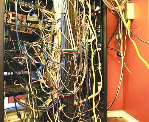 Sistem odası kablo düzenleme