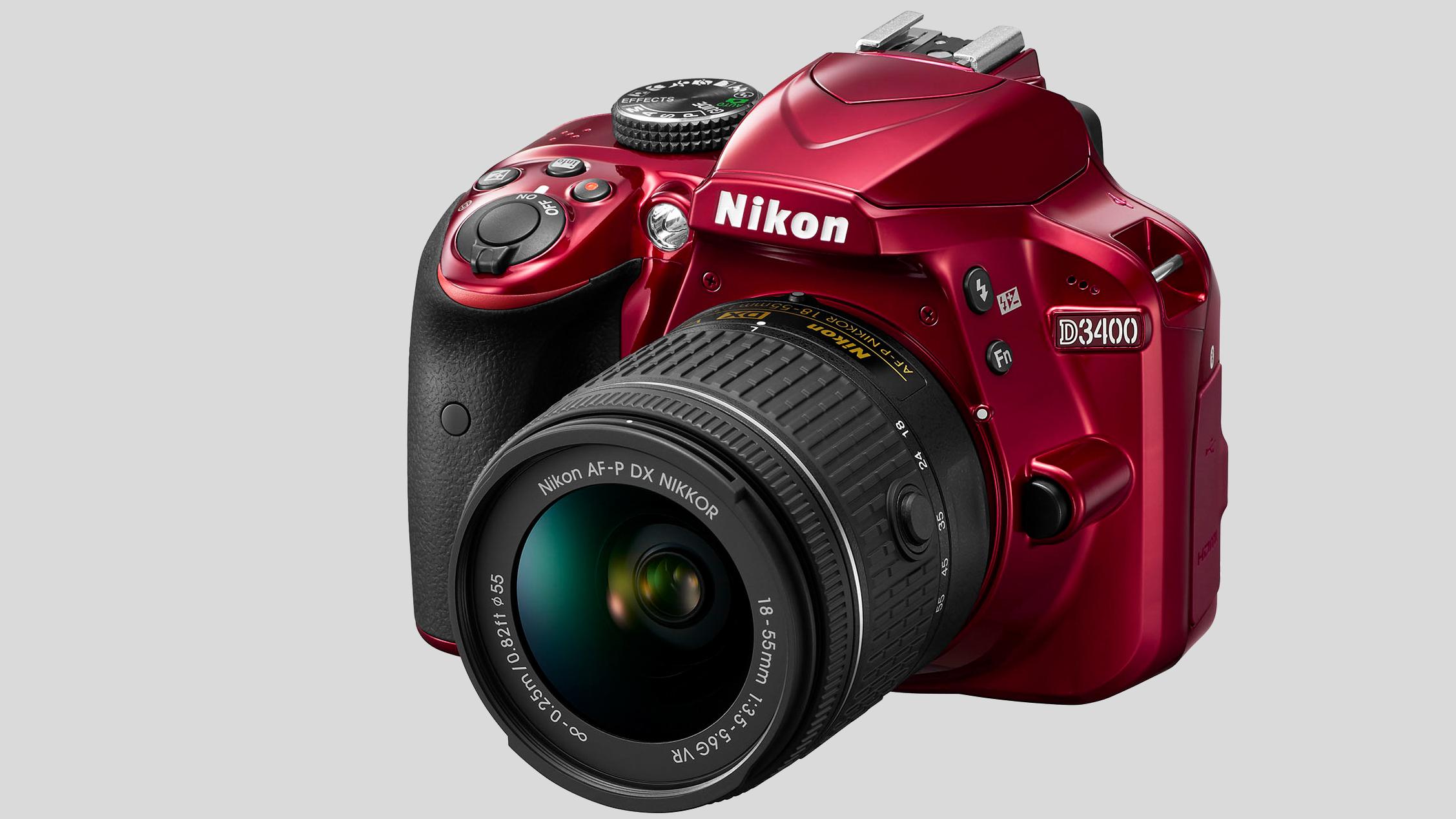 Nikon D3400 rød