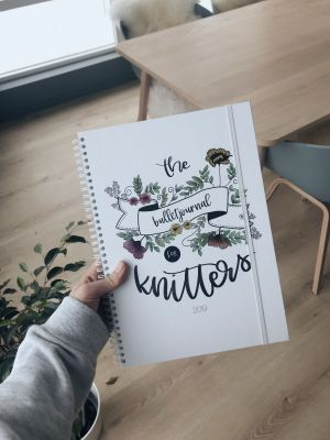 The bulletjournal for knitters 2019