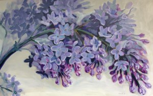 Lilac Painting