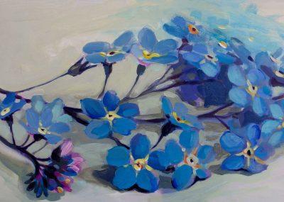 Kamille Saabre Floral Paintings