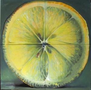 Painted lemon KamilleSaabre.com