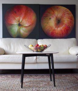 apple painting interior