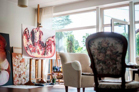 Kamille Saabre ateljee