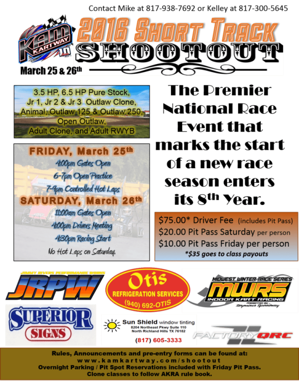 Short Track Shootout