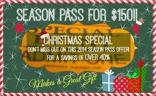Season Pass Special $150