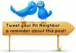 Tweet your KAM Pit Neighbor a reminder about deadline