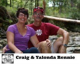 Yalonda and Craig Rennie