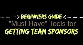 Getting team sponsors