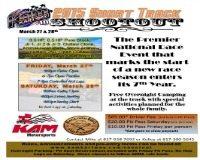 short track shootout at kam kartway information flyer