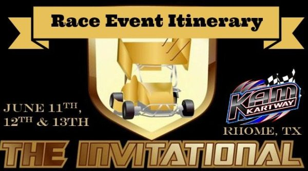 Race event itinerary