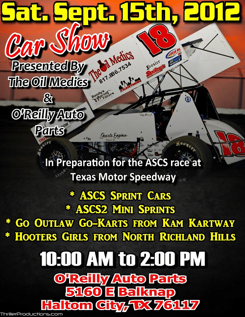 Car Show in 2012 featuring KAM Drivers