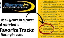 KAM Kartway named Top 15 Favorite Track by Racingin.com
