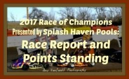 KAM Race report and Points Standings