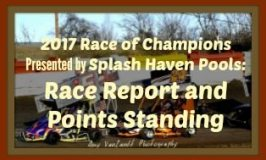 Season Opener Race Report with Points
