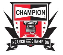search for a champion logo