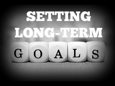 Long term goals image