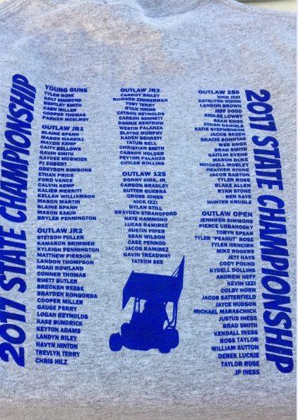 Texas State Championship Event Tshirts