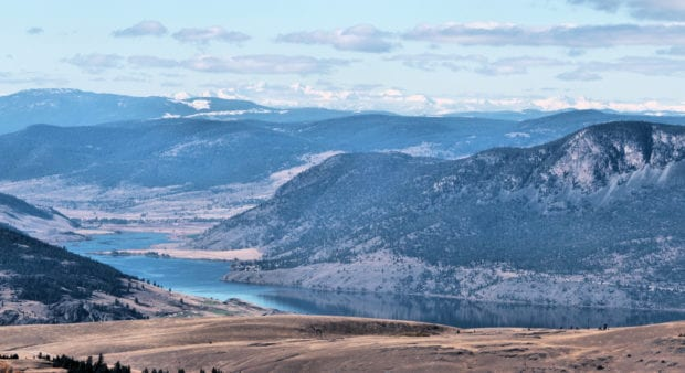 mount hamilton view west
