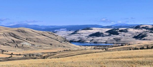 mount hamilton view east