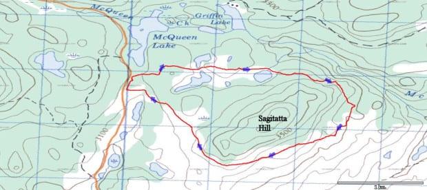 Sagittata Hill Loop 2